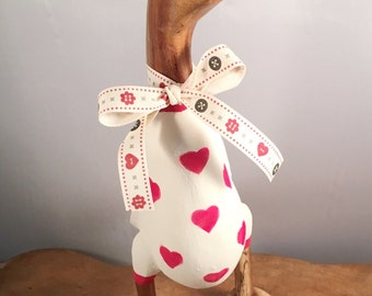 Small Valentine Heart Duck