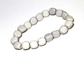 ONE Feldspar Bracelet, Crown Chakra Healing Stone, Wedding Jewelry, Feldspar Crystal, Yoga Jewelry, Meditation, Gifts For Her, Boho Jewelry