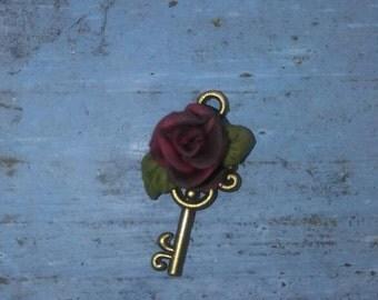 Victorian Rose Key