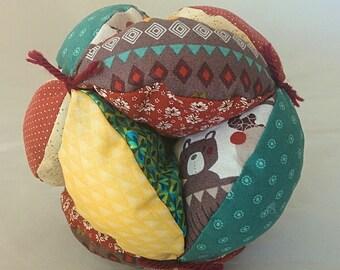 Clutch Ball with Woodland Animals