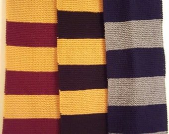 Hogwarts House Scarf Lower Years- Available for all Houses