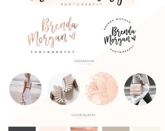 Logo design/ Branding Kit/ Branding package/ Watercolor logo design/ Business logo design, photography logo/ premade logo/ watermark logo