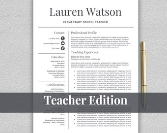teacher resume template for word teacher cv template teaching resume template resume for