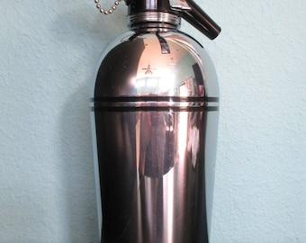 Vintage Seltzer Bottle, Sparklet, Soda Siphon, Art Deco, Bar, Retro, Space Age, Mid Century Modern, Mad Men Style, Barware