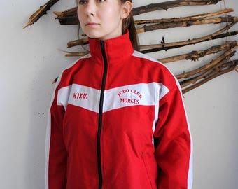 Vintage Hiku sport jacket 1990s windbreaker judo blazer