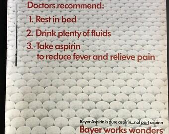 BAYER Aspirin ad from 1966 LIFE magazine