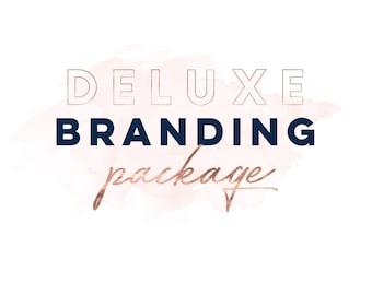 Custom Logo Design, One Of A Kind Logo, Business Branding Package, OOAK Logo, Custom Branding Kit, Custom Marketing Set Blog Header Feminine