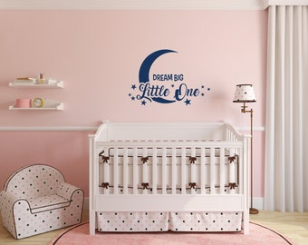 Nursery Wall Quote Etsy - Nursery wall sticker quotes