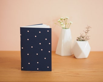 Peas - Navy Blue notebook