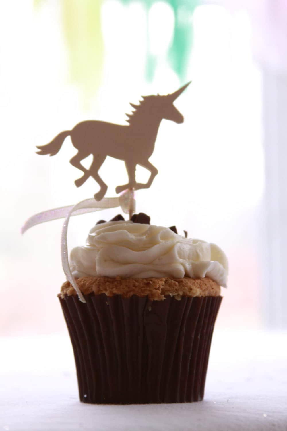 Unicorn Baby Shower Cupcake Topper Unicorn Bachelorette Unicorn