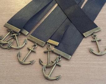 Anchor Ribbon Bookmark