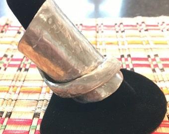 Large Vintage Spoon Ring