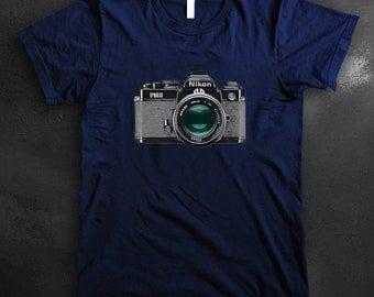 Nikon FM2 Vintage Camera Shirt