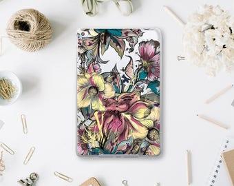 Rainforest Clear Case Ipad 2 Hard Case Amazon Flowers Case iPad Pro 9.7 Clear Case Ipad Mini 4 Cover Ipad Pro Case iPad Air 2 Tablet WA016