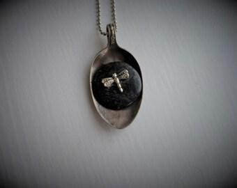 Vintage Spoon Necklace #813