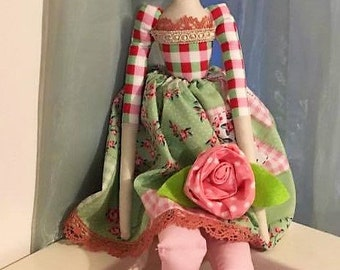 Tilda doll, Fabric Doll, Home Decor Doll, Angel doll
