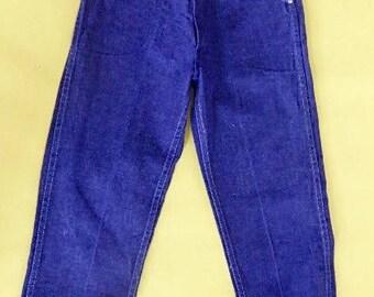 Jimmy Dean Jeans: Telsada Pre shrunk 1970s kids jeans
