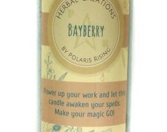 Bayberry Pillar Candle