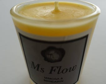 Ms Flow Mimosa & Mandarin Candle