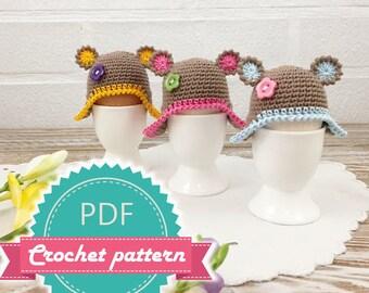 Crochet Egg Warmer Pattern, Easter Egg Cozy PDF PATTERN, Easy Crochet Pattern, Easter Egg Warmer, Amigurumi Egg Warmer, Egg Cover Pattern