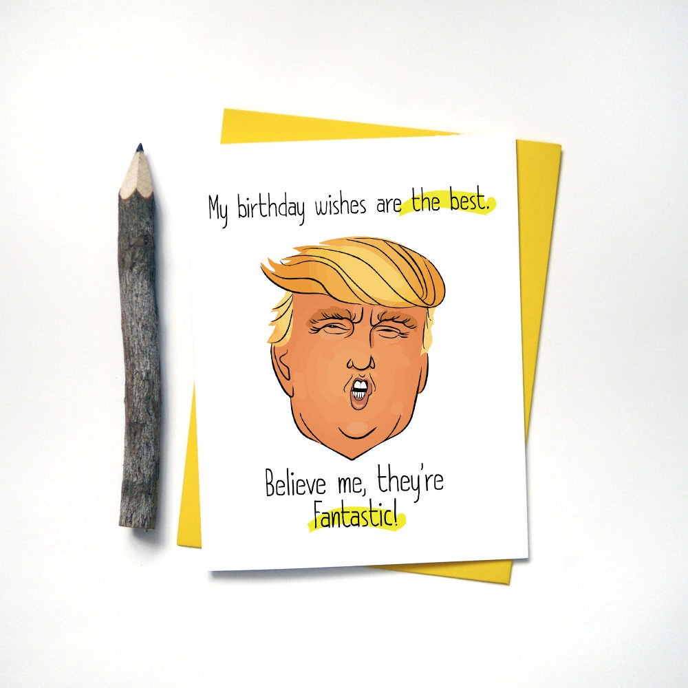 Funny Birthday Cards Donald Trump Birthday Cards For Mom