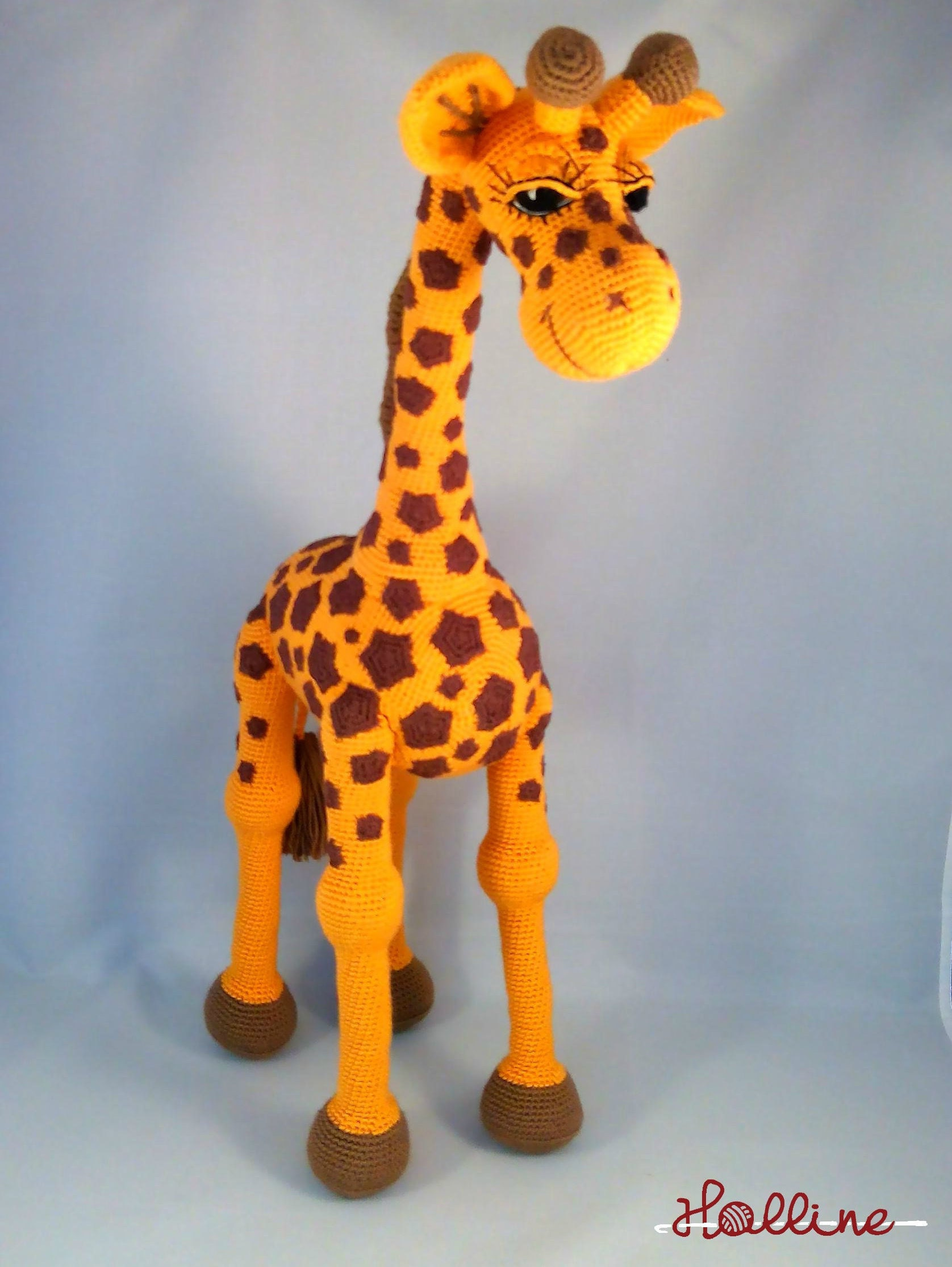 PDF pattern Giraffe April crochet amigurumi giraffe English