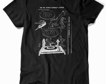 Stereo System T-Shirt  by Print Mafia®