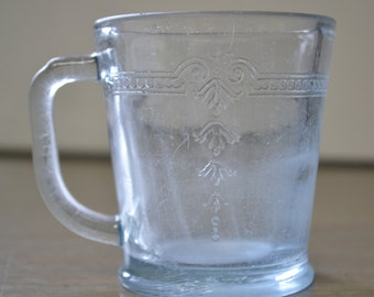"Vintage Fire-King Dinnerware ""Philbe"" Cup"