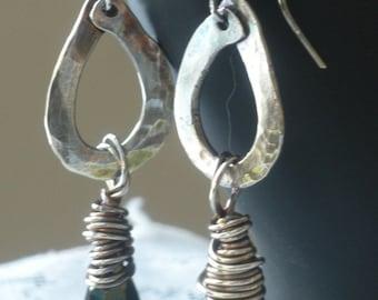 Emerald Mist Earrings