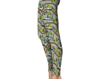 4x4 Trail Leggings, Capris or Yoga Pants