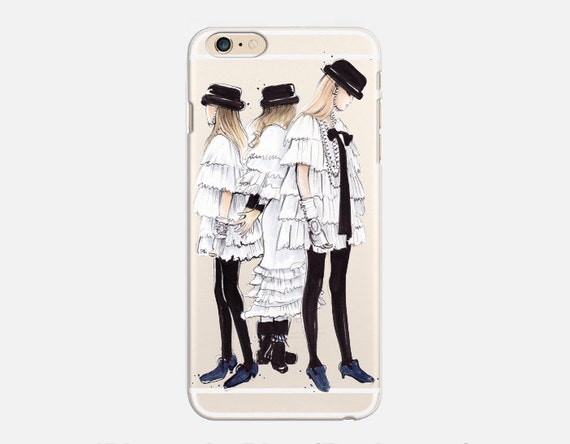 chanel iphone 6 case. chanel iphone 8 case, clear 7 plus inspired, fashion case iphone 6