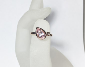 Morganite Rings
