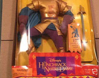 Hunchback Of Notre Dame Phoebus Doll Disney 90s Doll