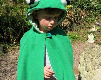 Children's Frog Cape