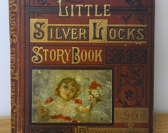 1880 Little Silverlocks Story Book by Mrs. Sale Barker