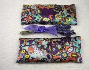 """Lavender """"Julia"""" Silk Eye Pillow"""