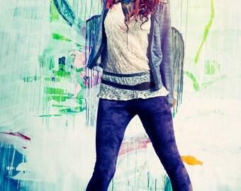 Bohemian Jacket, Boho Jacket, Gray Jacket, Short Jacket, Womens Shrug, Fitted Jacket, Long Sleeve Jacket, Fall Cardigan, Urban Jacket, Boho