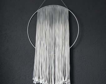 Macrame Wall-Hanger Boho Nordic Ombre Batik