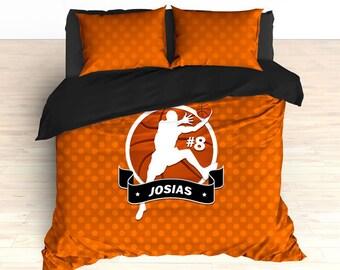 Custom Basketball Bedding Theme Personalized Duvet Comforter