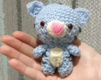 Miniature Amigurumi Crocheted Kitten - Available in any colour!