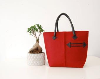 Red bag | Etsy