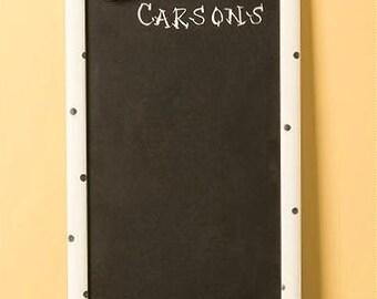 Four seasons chalkboard, personalized, interchangeable