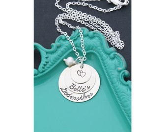 Godmother Gift Mother Necklace Godmother Jewelry Gift from Goddaughter • Gift Religious Personalized Catholic Gift Grandmother
