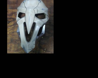 "OVERWATCH  ""Aged"" Reaper Mask - Handmade made to order Costume Part - Replica Cosplay Prop - Custom Made"