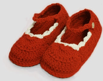 House Boots Slippers - House Slippers - Knitted Slippers - Soft House Slippers - Warm House Slippers - House Shoes - Winter Slippers