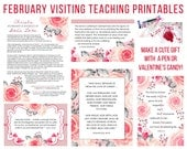February  2017 Visiting Teaching Message Printable Instant Download - LDS - Mormon - VT Message