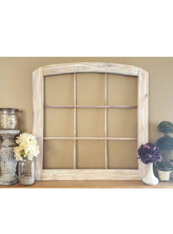 Faux Window Frame - Arched Window Frame - Faux Window Frame