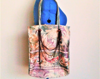 cross body bag / market bag / hippie bag / shopping bag / boho bag / beach bag / summer bag / color full bag / one shoulder bag / leather