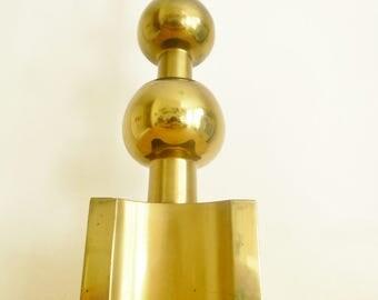 Atomic Mid-Century Tommi Parzinger Sculptural Brass Stiffel Lamp