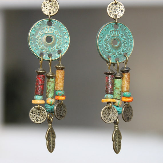 Boho Earrings Bohemian Earrings Boho jewelry Bohemian Jewelry